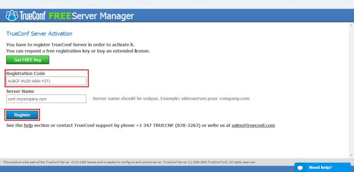 register-server