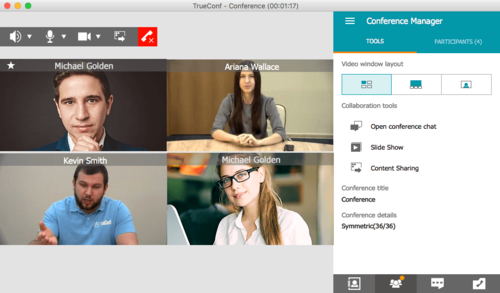 LAN Video conferencing software system | Dedicated TrueConf