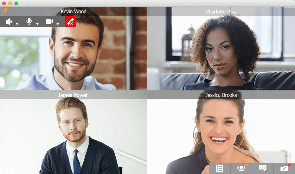 Multipoint Video Calls